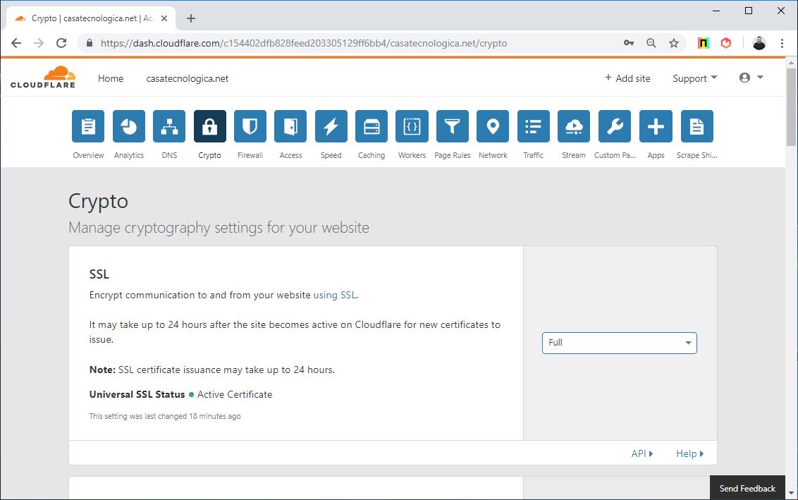 configurar cloudflare