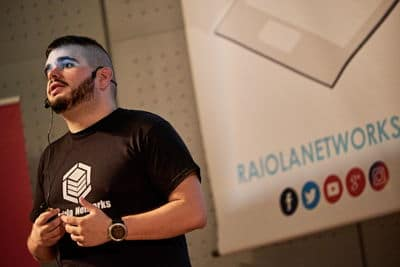 Álvaro Fontela en el RMC 18