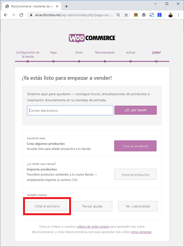tutorial woocommerce